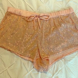 NWOT Victoria's Secret Sequin shorts